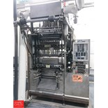 W.A. Lane 2-Up Pouch Filler, Model L-25, Bag Sizes include: 96 Ounce - 192 Ounce Bags, 15 Cycles Per
