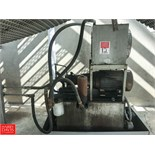 Hydraulic Pump System, 15 HP with Hayden Cooler, Tank and Containment
