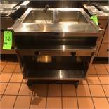 "Randell Open Base Electric Hot Food Table, Model 3612-208, S/N W1041761-1, 33"" W x 33"" D x 36"" H, ("