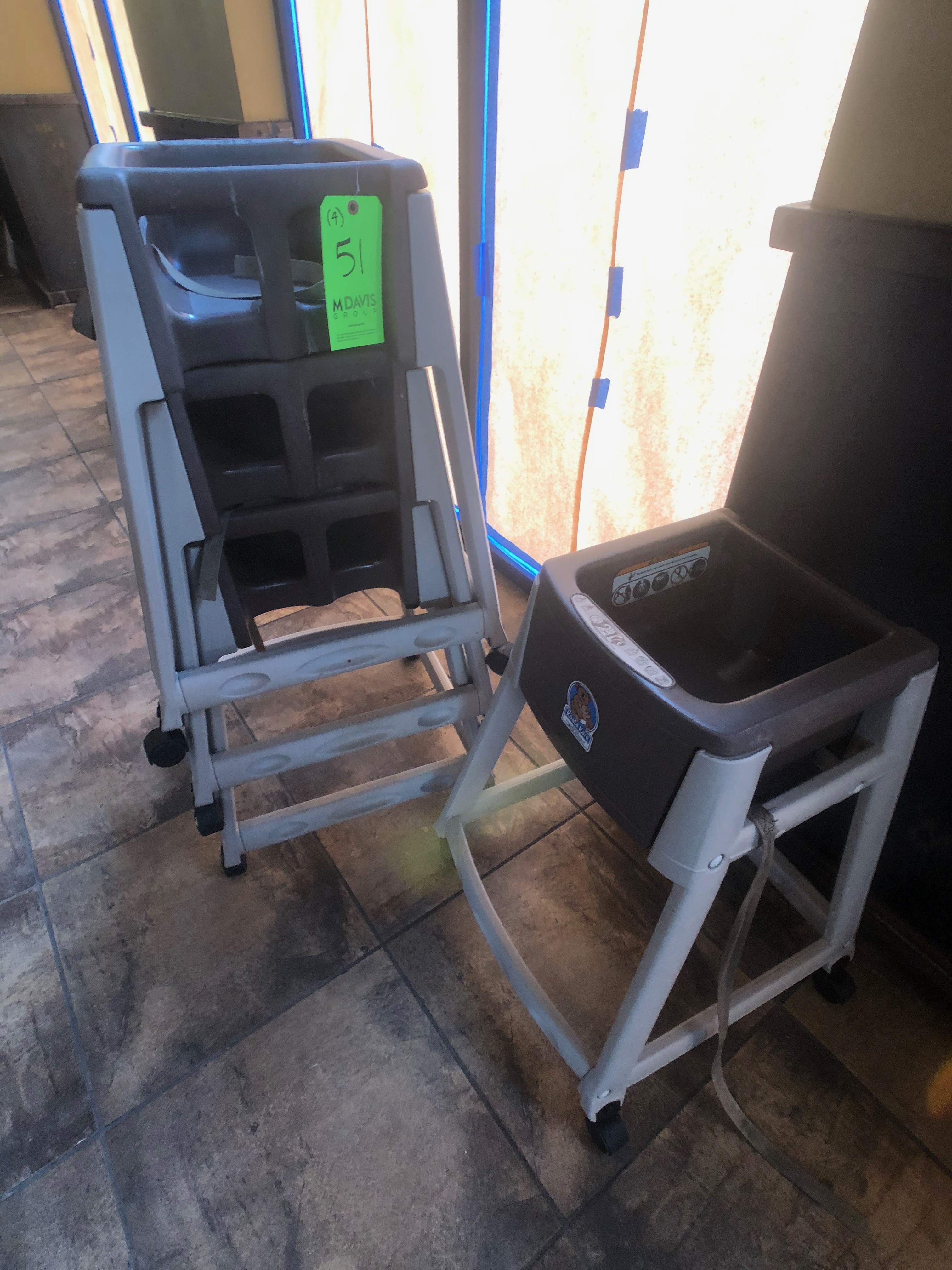 (4) Koala Kare Portable Booster Seat / High Chair, Model Kidsitter - Image 2 of 2