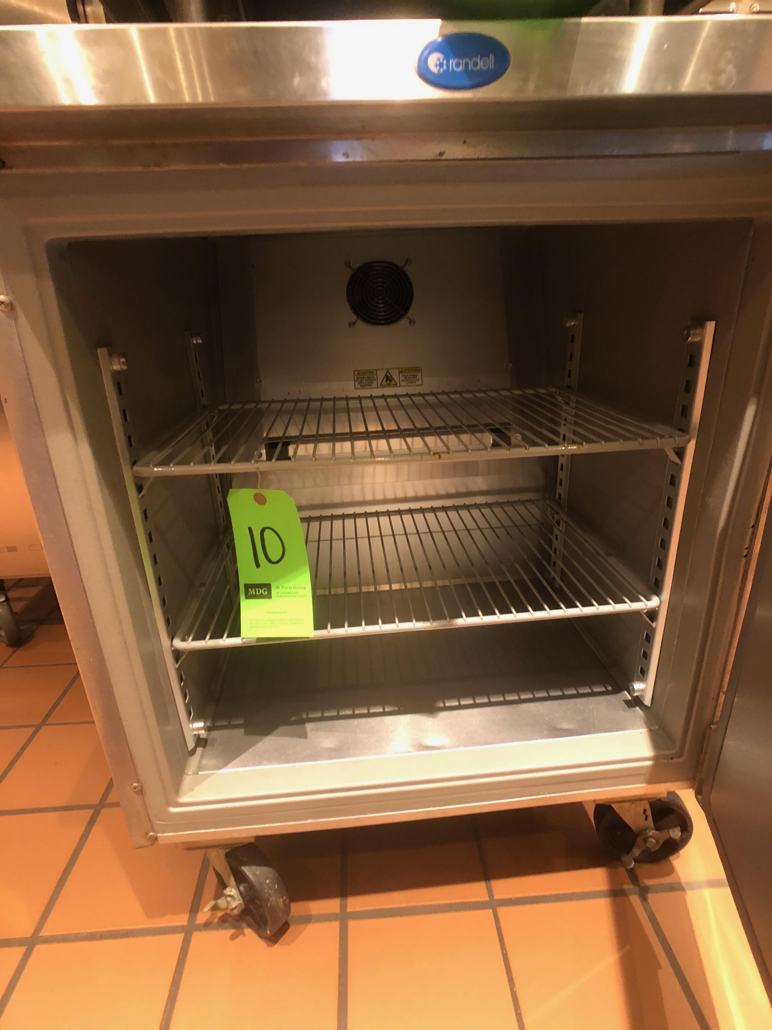 """Randell Single Door Worktop Refrigerator, Model 9402-7, S/N W1041751-1, 27"""" W x 30"""" D x 36"""" H - Image 4 of 5"""