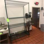 """Approx. 84"""" Wire Rack with Shelves"""