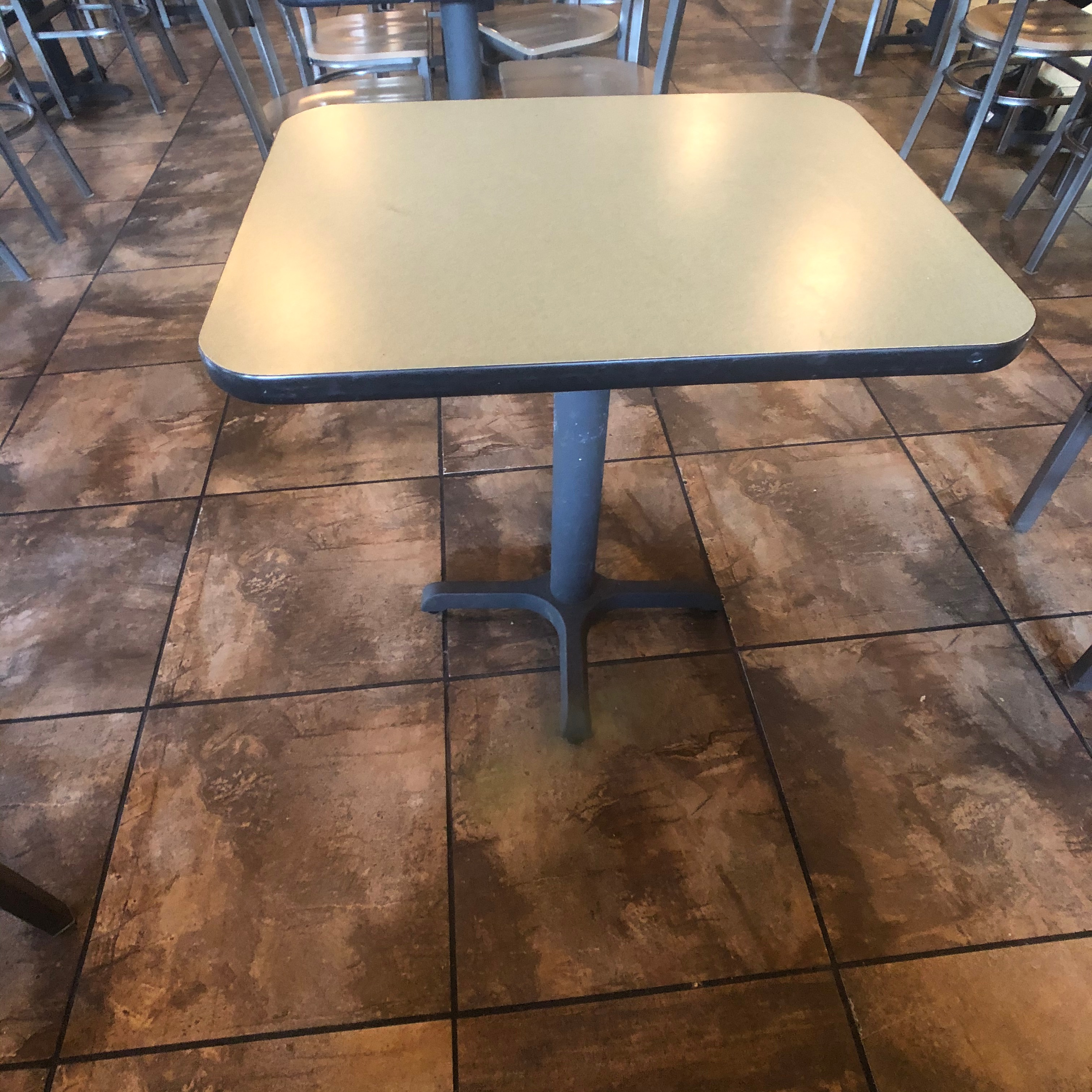 "(10) 2-Person Tables with (20) Walsh Simmons Seating Chairs, Approx. 2'6"" L x 24"" W - Image 3 of 5"