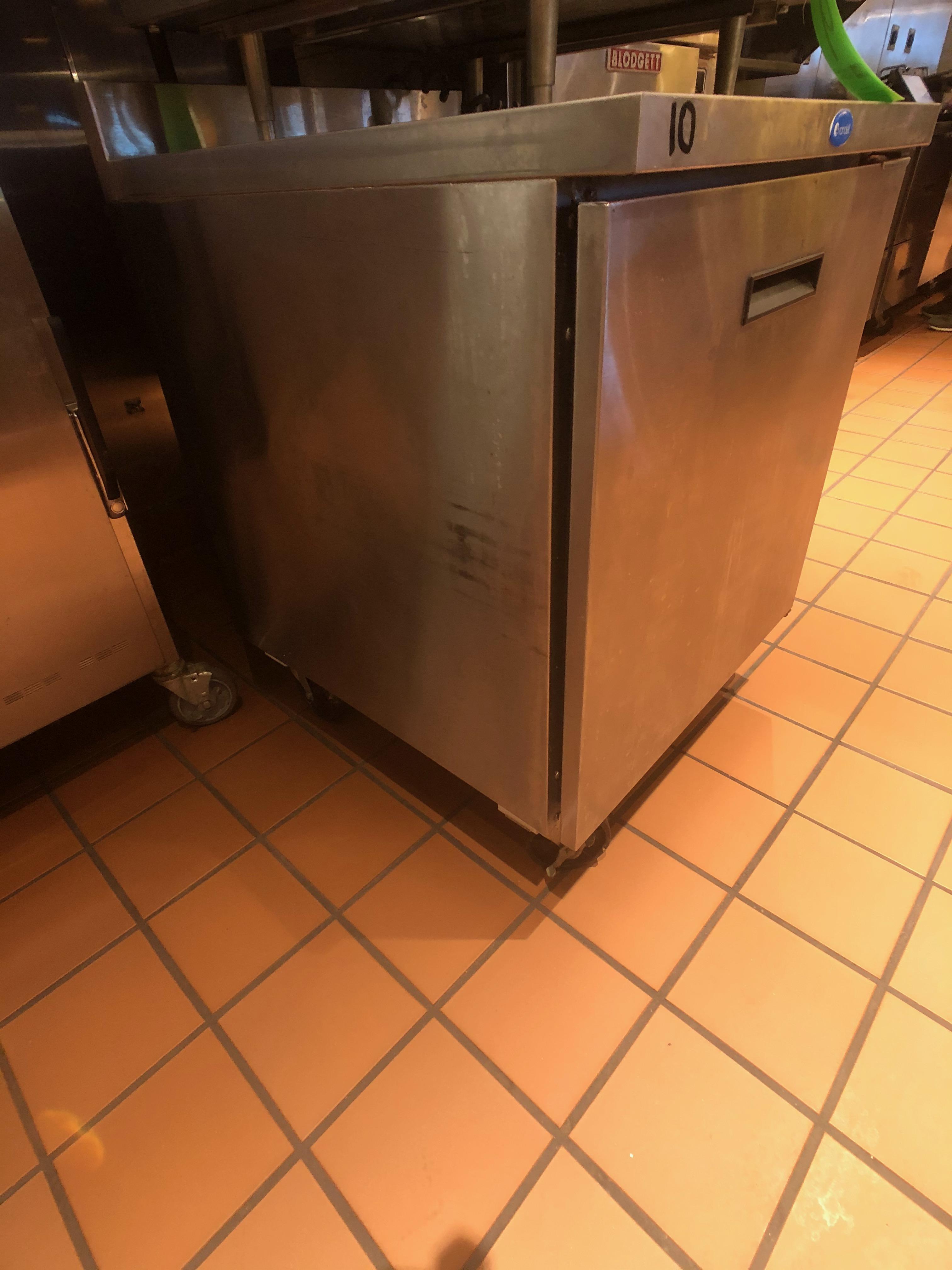 """Randell Single Door Worktop Refrigerator, Model 9402-7, S/N W1041751-1, 27"""" W x 30"""" D x 36"""" H - Image 2 of 5"""