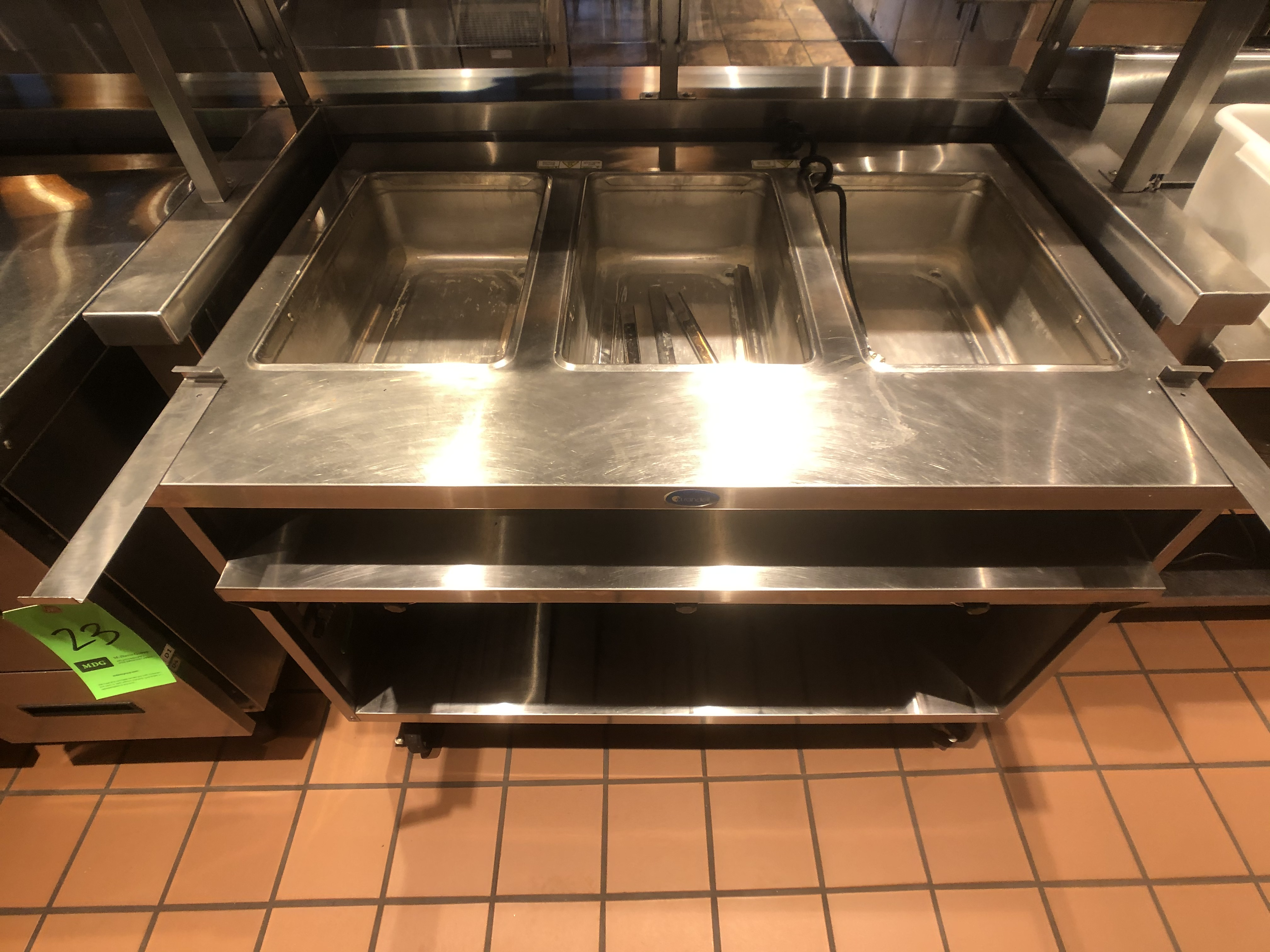 """Randell Open Base Electric Hot Food Table, Model 3613-240, S/N W1041760-1, 48"""" W x 33"""" D x 36"""" H - Image 2 of 4"""