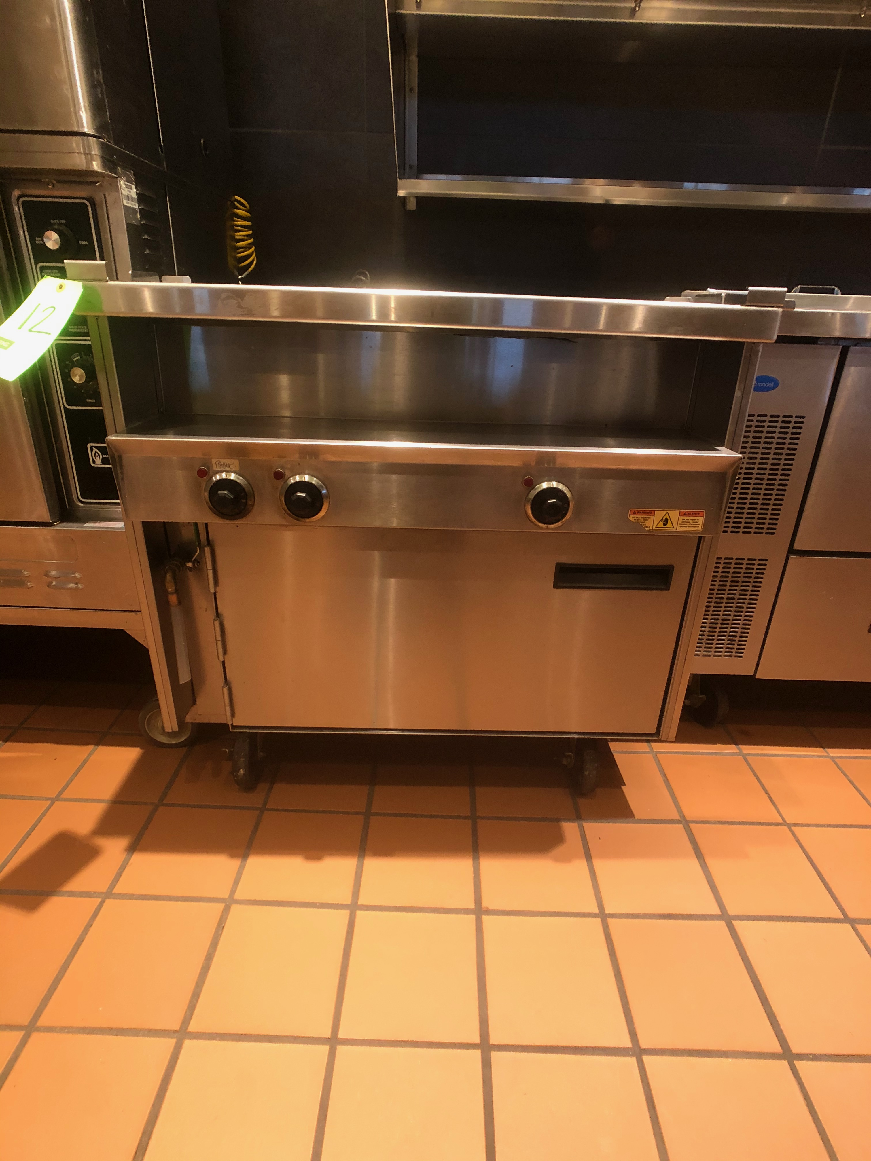 Randell Open Base Electric Hot Food Table, Model 31330, S/N W1041765-1 - Image 2 of 5