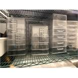 (Approx. 60) Rubermaid 4-6 Liter Clear Food Storage Containers