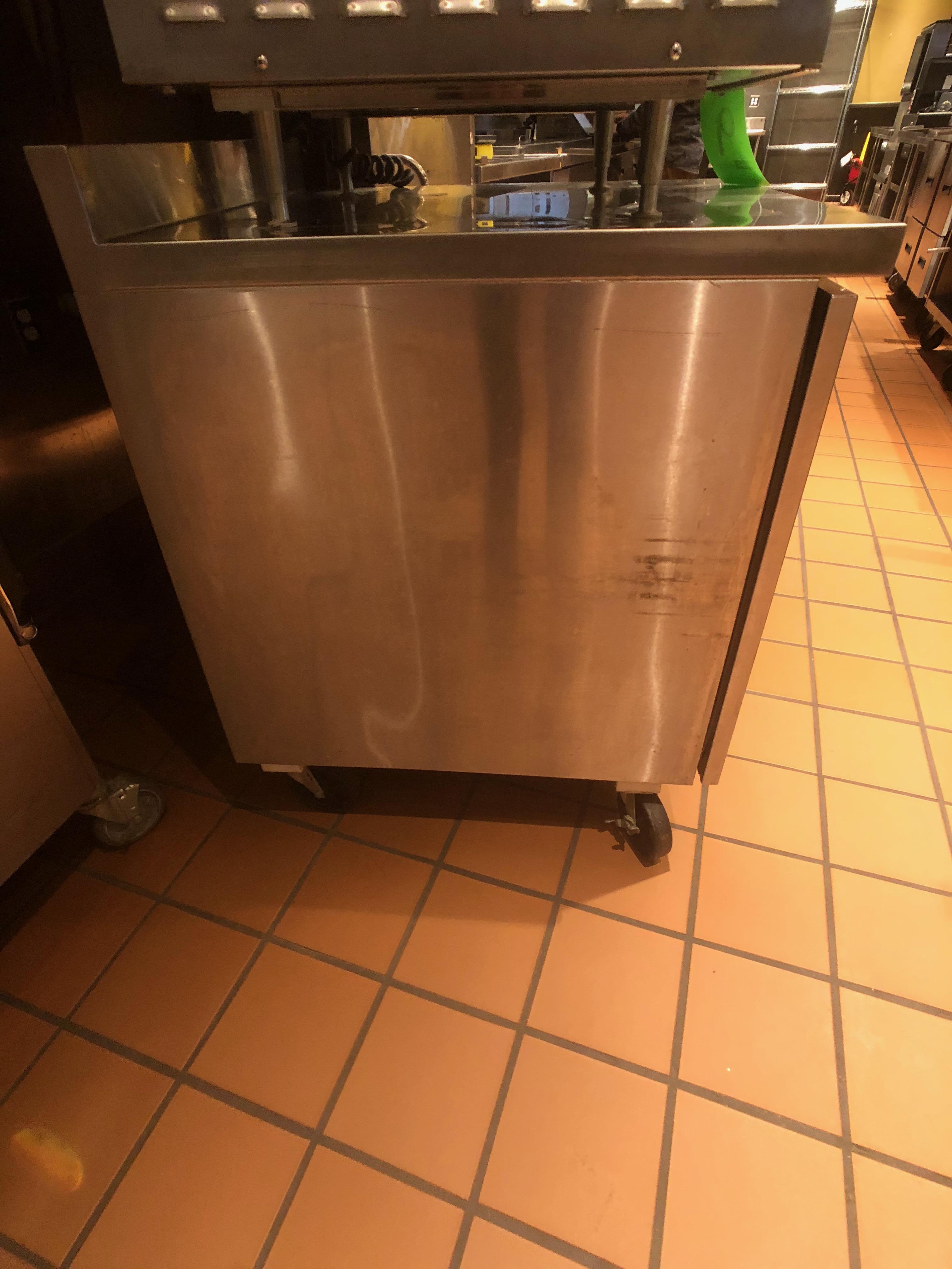"""Randell Single Door Worktop Refrigerator, Model 9402-7, S/N W1041751-1, 27"""" W x 30"""" D x 36"""" H - Image 3 of 5"""