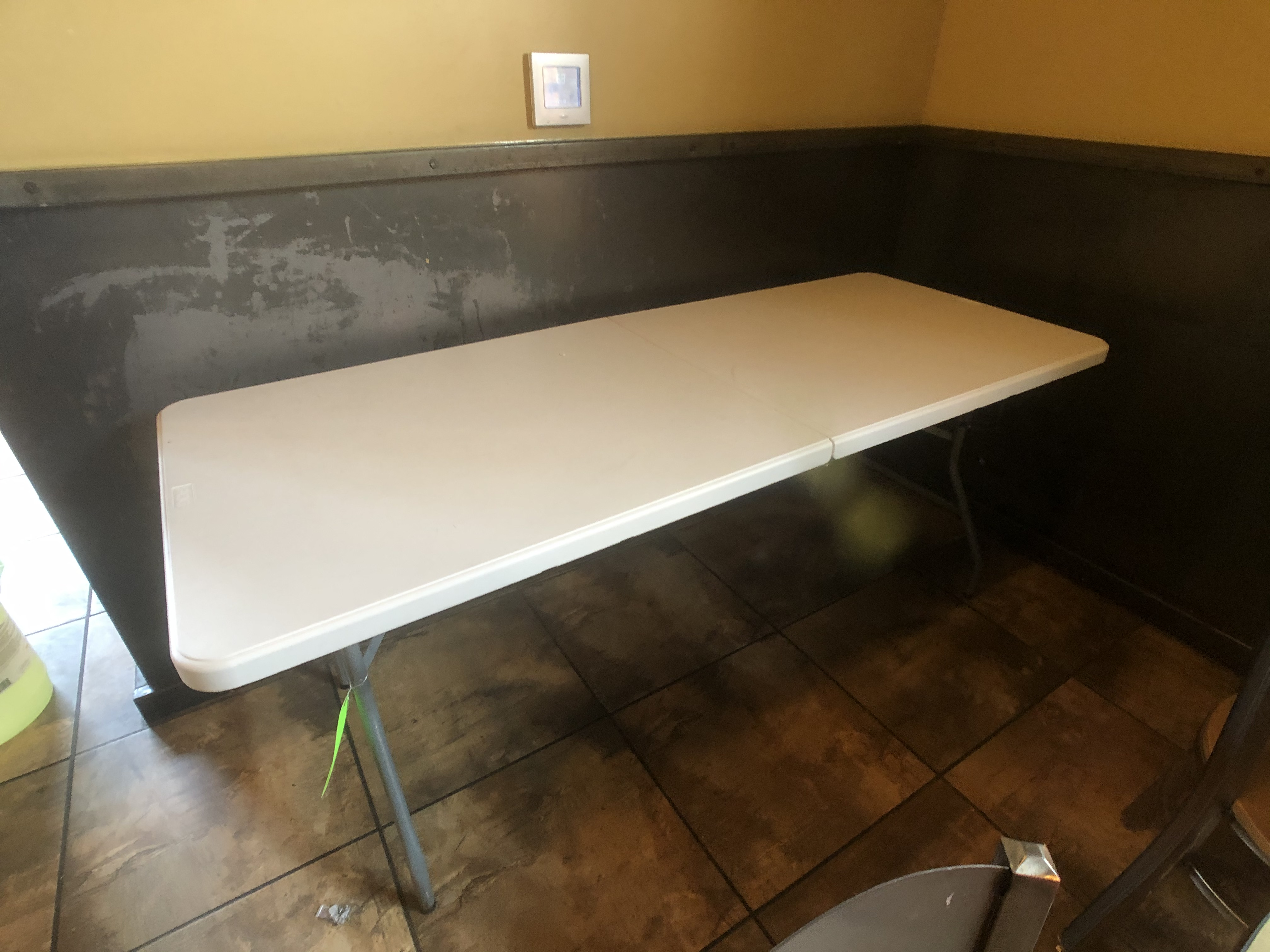 "PDG Foldable Plastic Table, Approx. 70"" L x 29"" W - Image 3 of 3"
