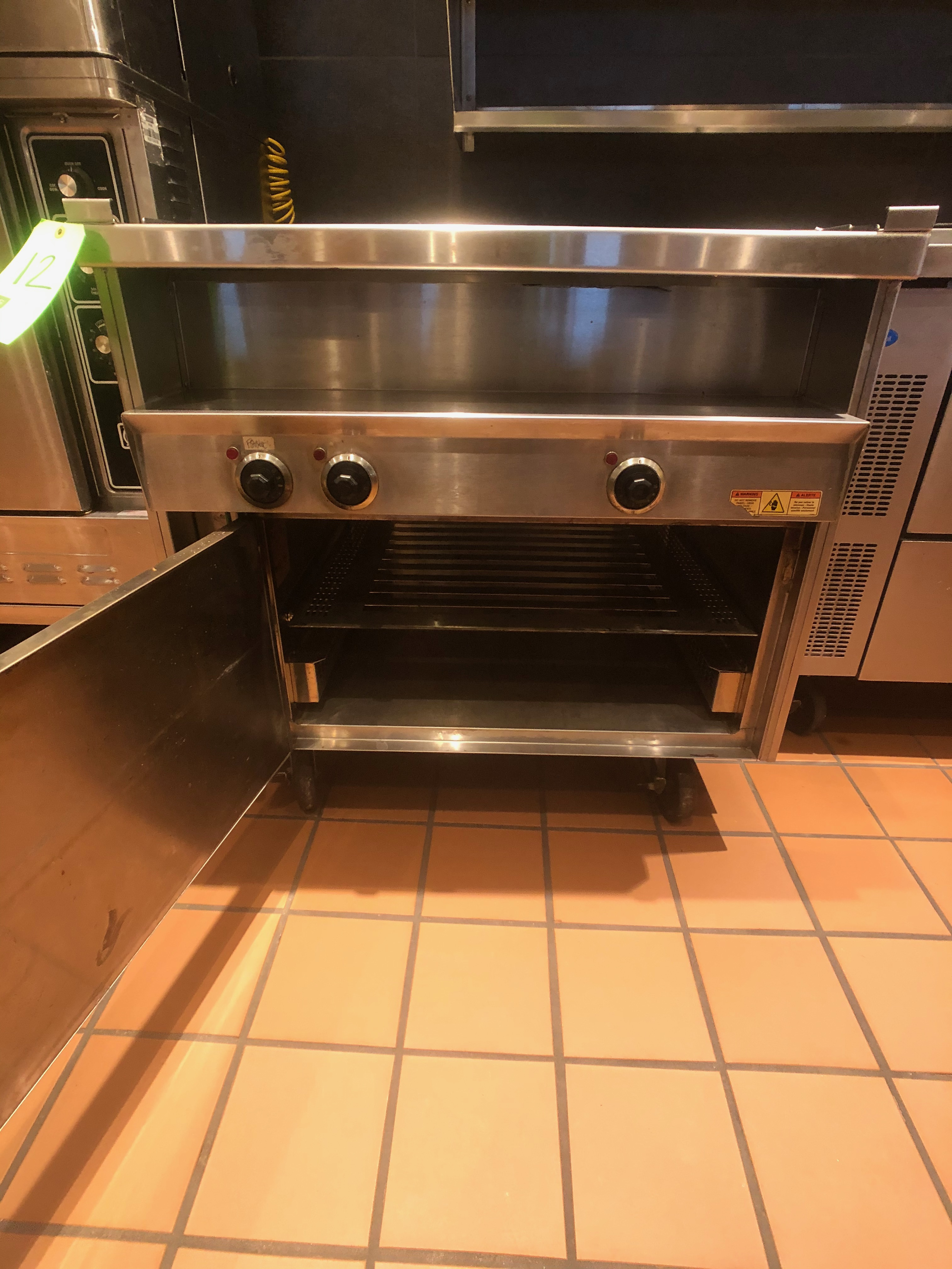 Randell Open Base Electric Hot Food Table, Model 31330, S/N W1041765-1 - Image 3 of 5