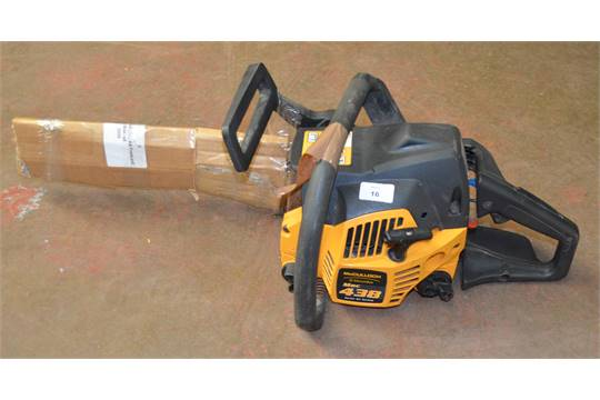 Police mcculloch electrolux mac 438 petrol chainsaw no reserve police mcculloch electrolux mac 438 petrol chainsaw no reserve vat on hammer price greentooth Choice Image