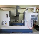 2007 YCM XV1250A 4-Axis CNC Vertical Machining Center s/n 0018 w/ Yeong Chin Fanuc MXP-100i