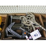 Vise-Grip and C-Clamps