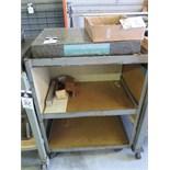 "Standridge 18"" x 24"" x 3"" Granite Surface Plate w/ Roll Stand"