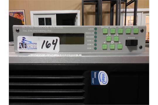 JSK Model TC1128B Time Code Generator