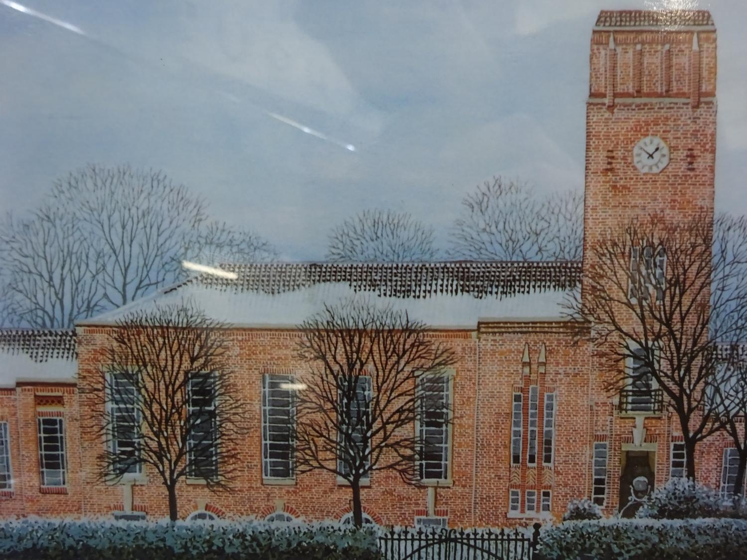 Lot 13 - Gerald Rickards(1931 -2006) - collection of signed prints x3 - Various places in Wigan, 31x36cm