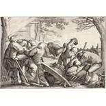Bruegel d. Ä., Pieter: Kämpfende Bauern