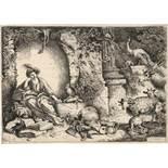 Castiglione, Giovanni Benedetto: Circe verwandelt die Gefährten des Odysseus in Tiere