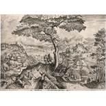 Bruegel d. Ä., Pieter - nach: Landschaft mit rastenden Soldaten