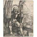 Beham, Hans Sebald: Hl. Sebald mit dem Kirchenmodell