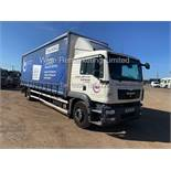 MAN TGM 18.250 4 X 2 CURTAINSIDER - 2011 61 REG - SEMI AUTO **SLEEPER CAB** TAIL LIFT