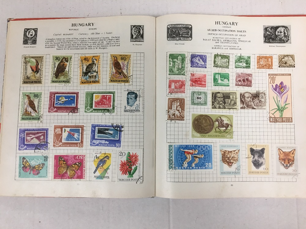 Lot 20 - COLLECTION OF STAMP ALBUMS AND FIRST DAY COVERS