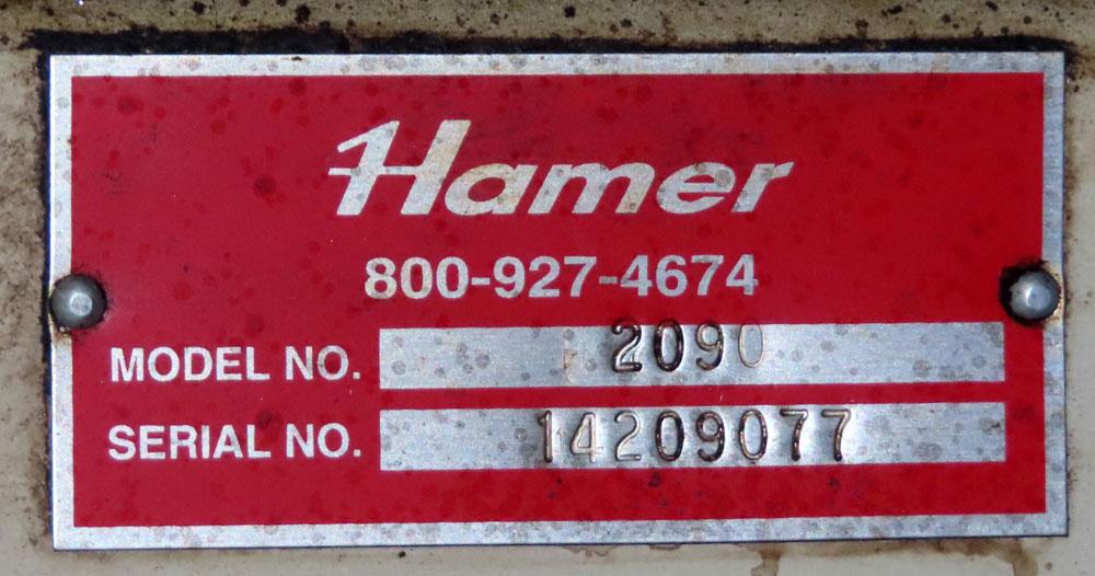 Hamer Model 2090 Form Fill & Seal Machine - Image 24 of 24