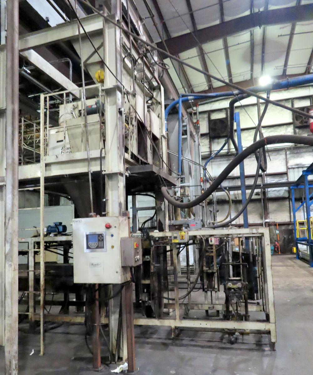 Hamer Model 2090 Form Fill & Seal Machine - Image 3 of 24