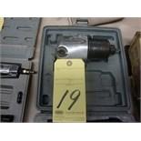 "PNEUMATIC IMPACT GUN, BLUE POINT 1/2"", w/sockets"