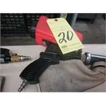 PNEUMATIC SANDBLAST GUN, HOT SHOT