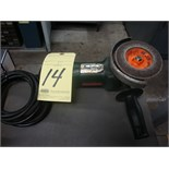 """RIGHT ANGLE ELECTRIC GRINDER, METABO 4"""""""