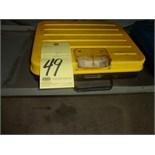SCALE, PELOUZE 100 LB. CAP.  (located under bench)