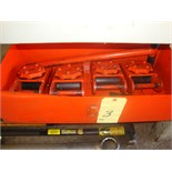 LOT OF MACHINE MOVING DOLLIES