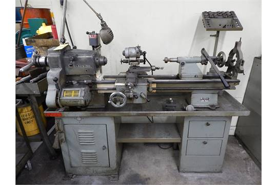Clausing Model 6329 Tool Room Lathe, SN 2-5408, 12