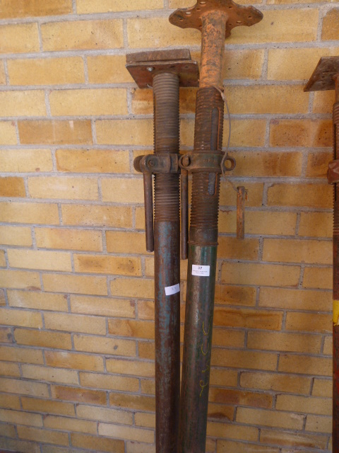 Lot 37 - Pair of Acrow Props 180cm+