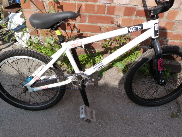 Lot 6 - Child's White Bicycle