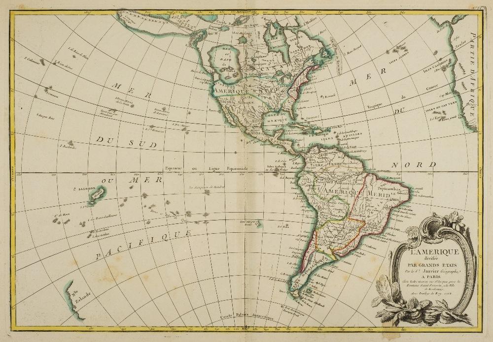 Lot 8 - Bonne (Rigobert). Atlas Moderne ou collection de cartes sur toutes les parties du globe terrestre,
