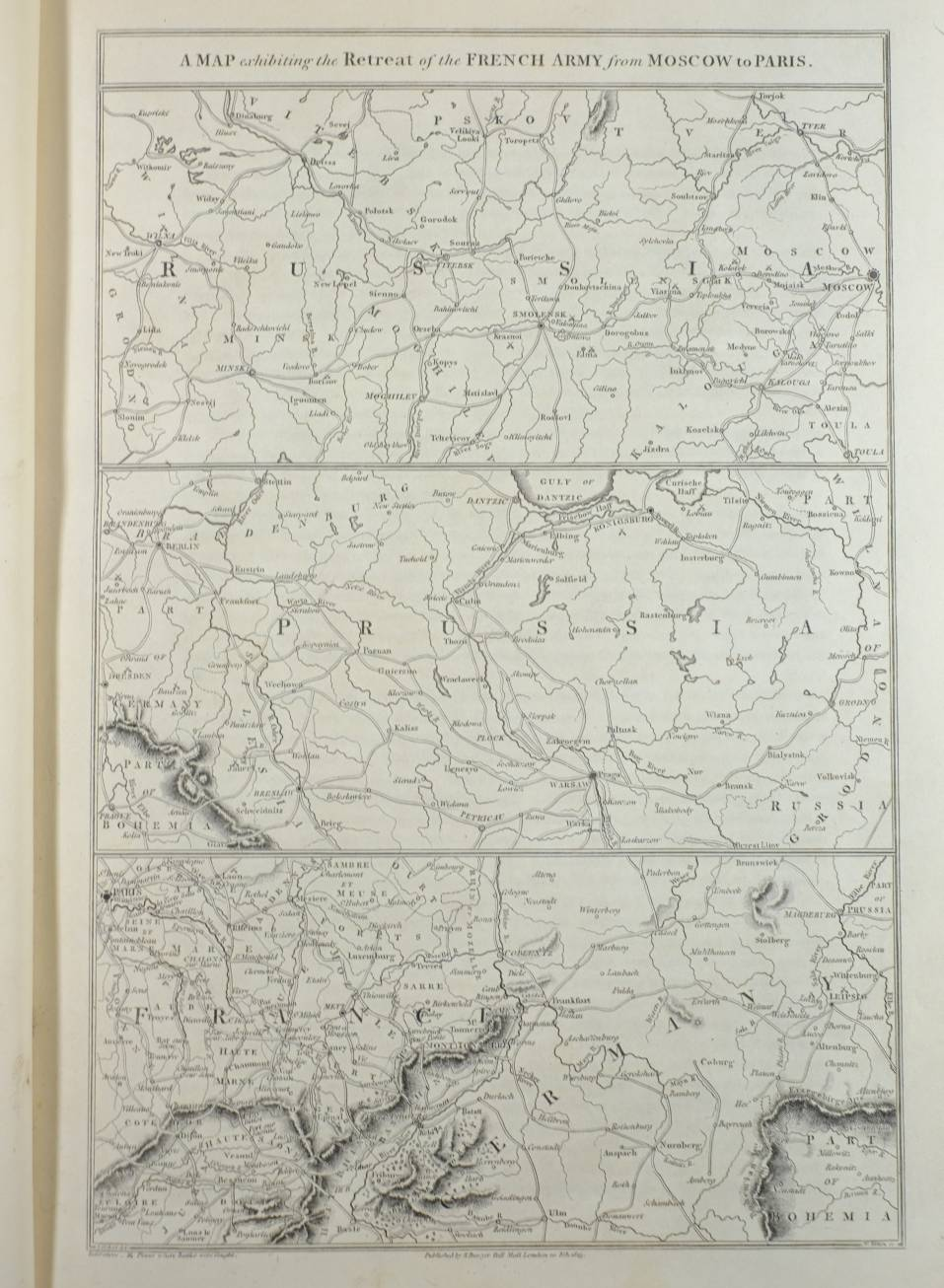 Lot 10 - Bowyer (R., publisher). An Illustrated Record of the Important Events in the Annals of Europe, which