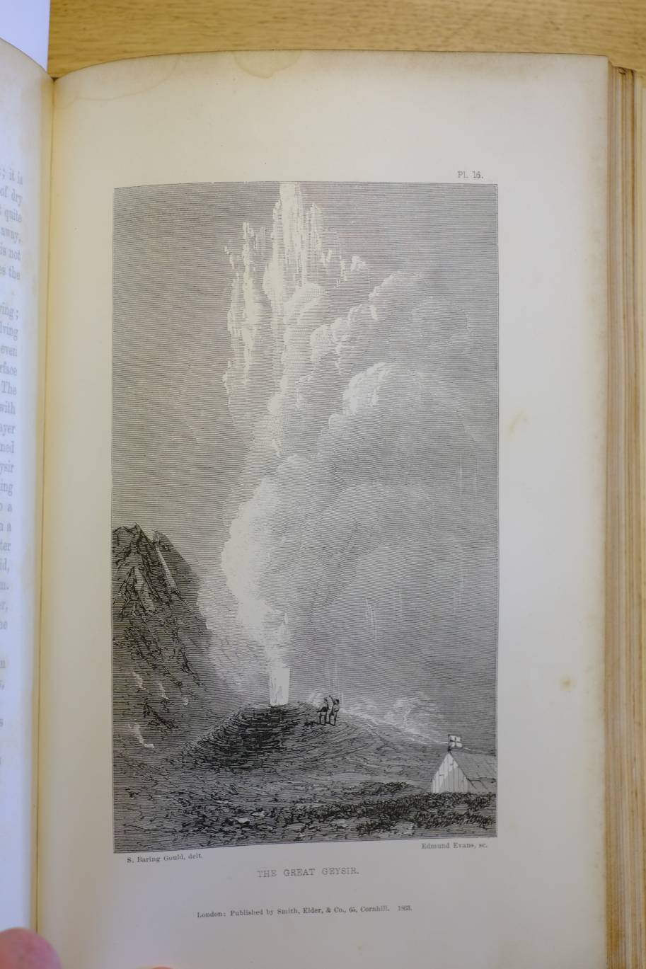 Lot 4 - Baring-Gould (Sabine). Iceland: Its Scenes and Sagas, 1st edition, 1863, folding lithograph map,