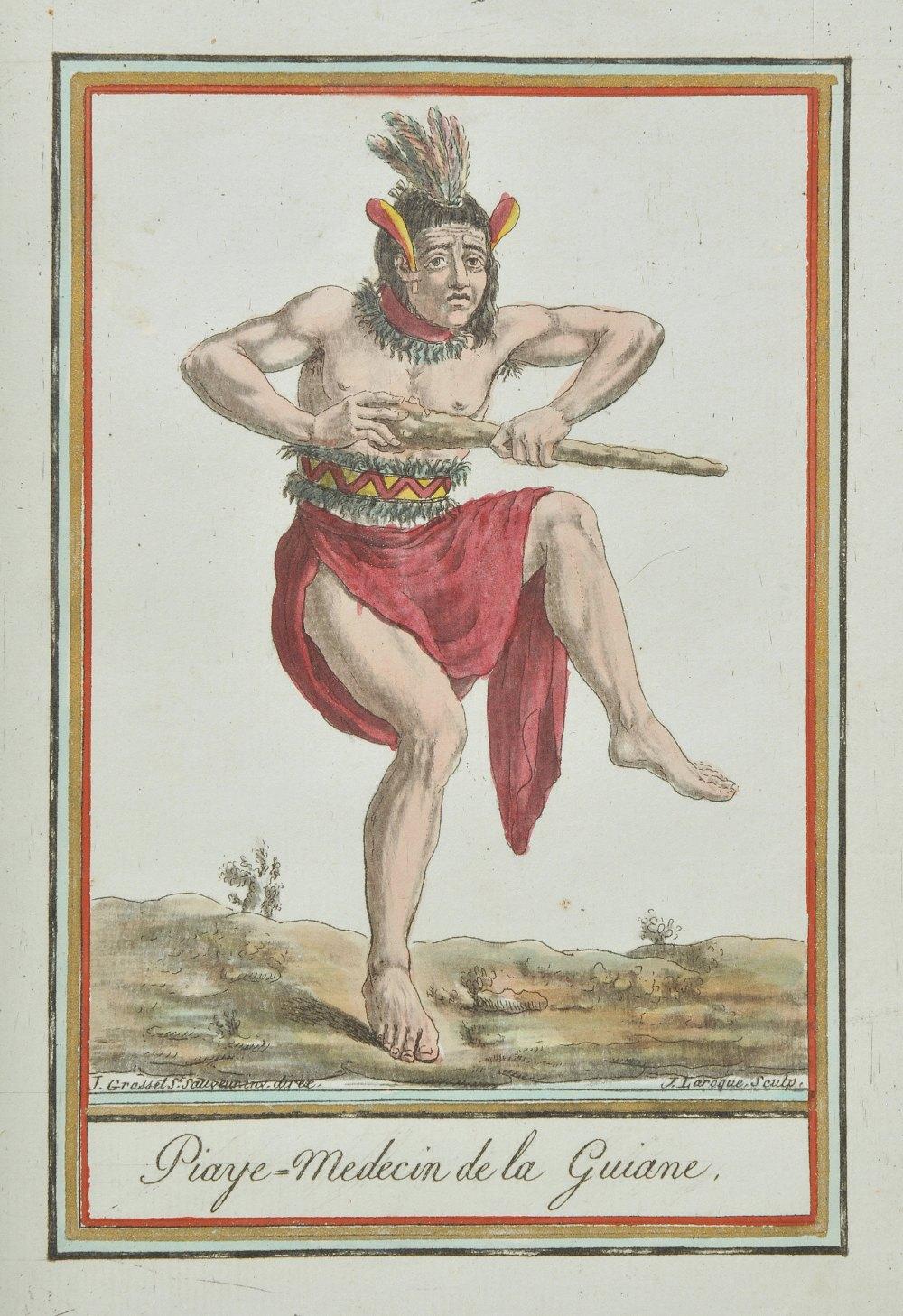Lot 26 - Grasset de Saint-Sauveur Jacques. [Encyclopedie des Voyages, 1795-1796], 47 hand-coloured engraved