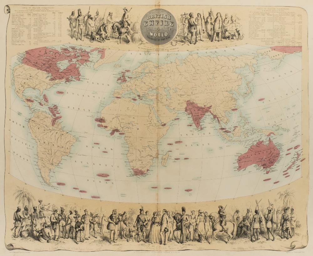 Lot 22 - Fullarton (A. and Co., publisher). The Royal Illustrated Atlas of Modern Geography with an
