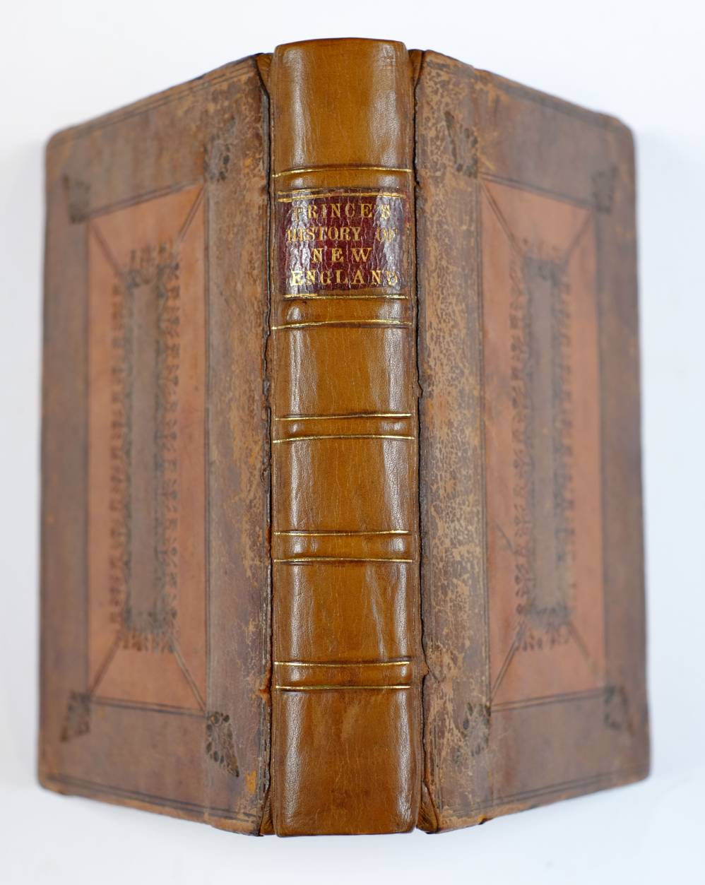 Lot 40 - Prince (Thomas). A Chronological History of New-England in the Form of Annals..., from the Discovery