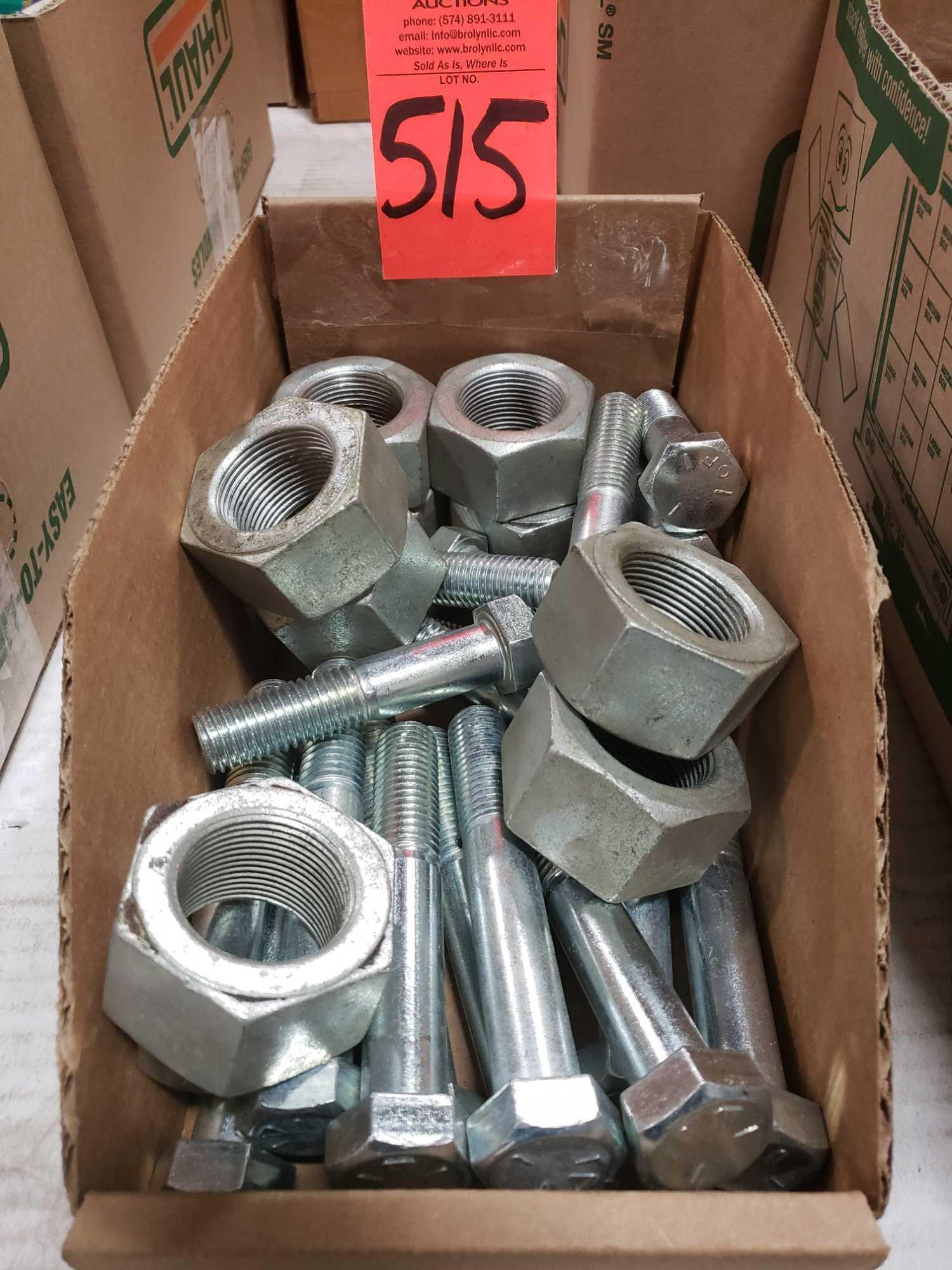 Assorted box new hardware, high grade, nuts, bolts, washers, etc. New in box.