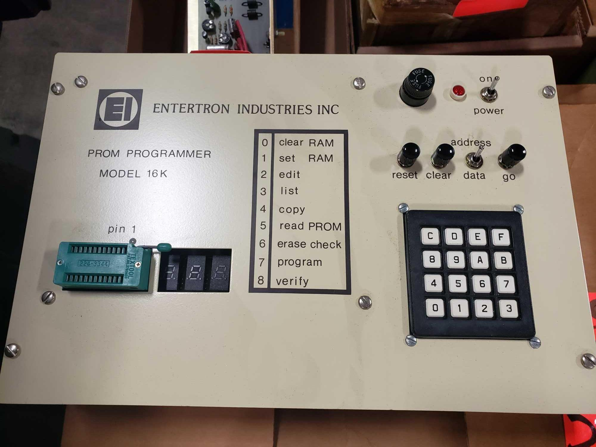 Entertron Industries Prom Programmer model 16K. New in box. - Image 2 of 3