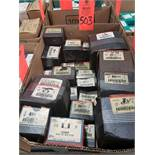Qty 24 - Assorted boxes of new hardware, high grade, nuts, bolts, washers, etc. New in box.
