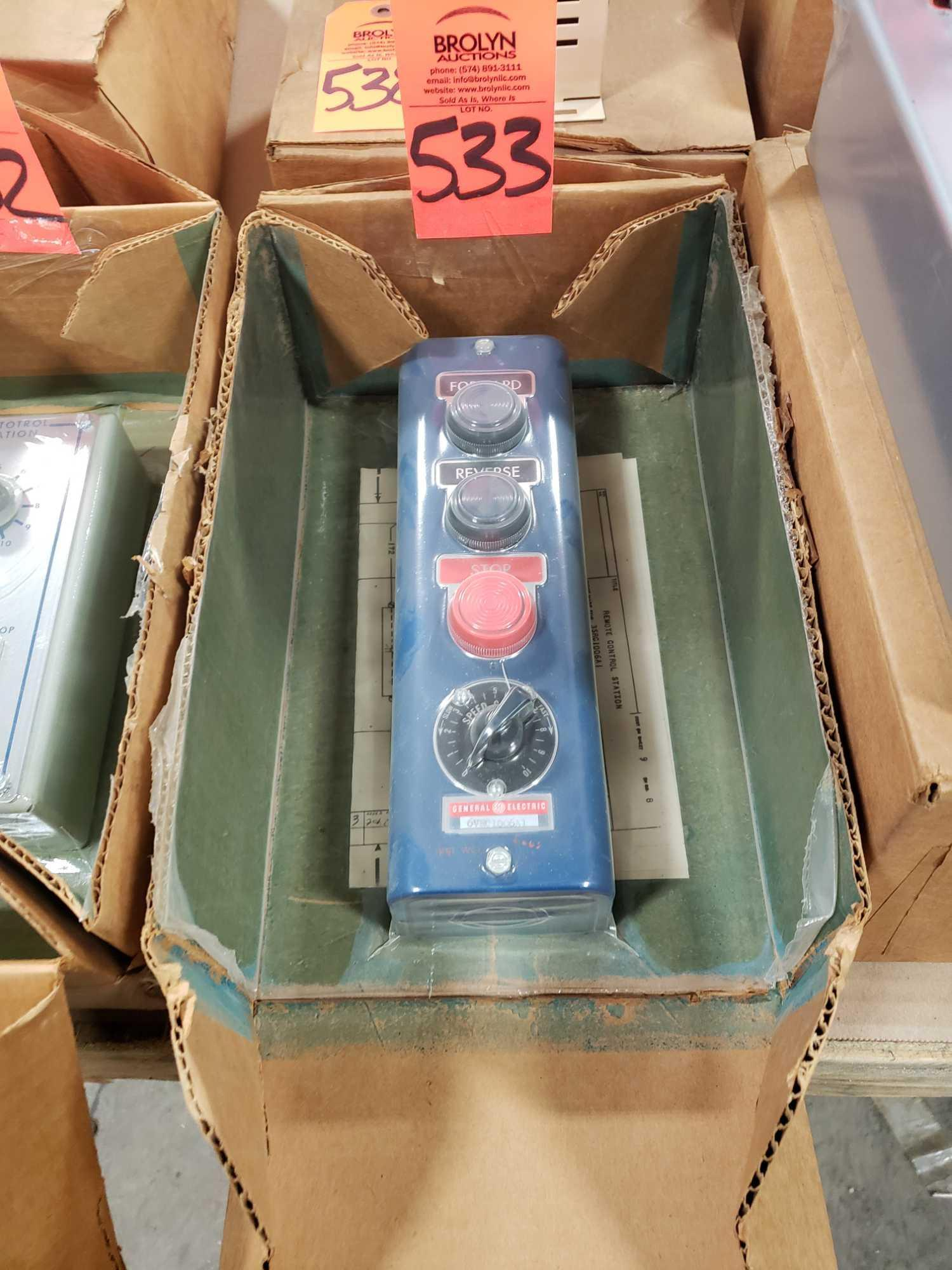 GE Statotrol station controller model 6VRC1006A1. New in box.