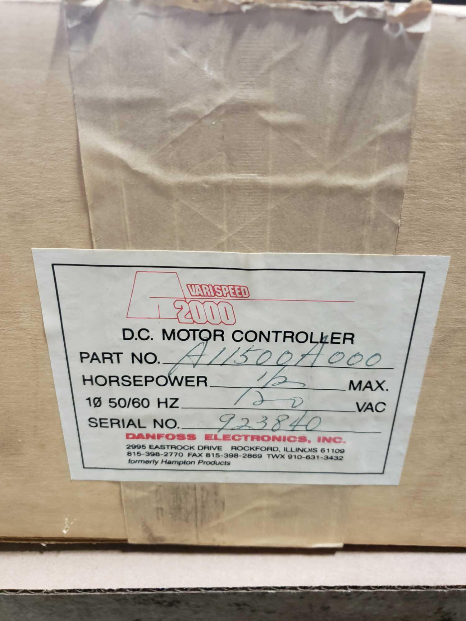Danfoss Electronics part number A11500A000, 1/2hp drive. New in box. - Image 4 of 4