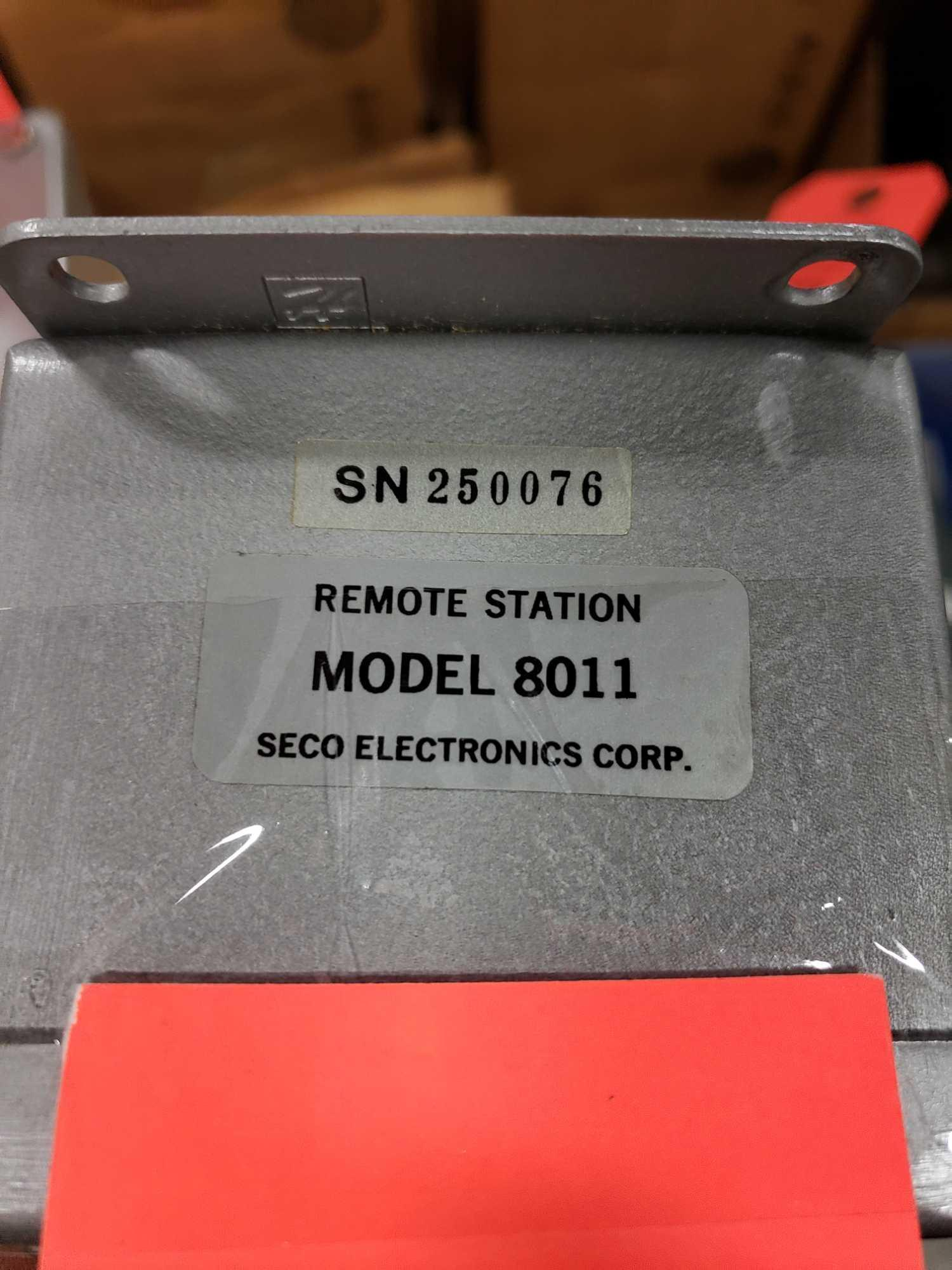 Seco Electronics remote station model 8011. New in box. - Image 2 of 2