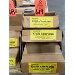 Qty 3 - Dodge Coupling size R25F. New in box.