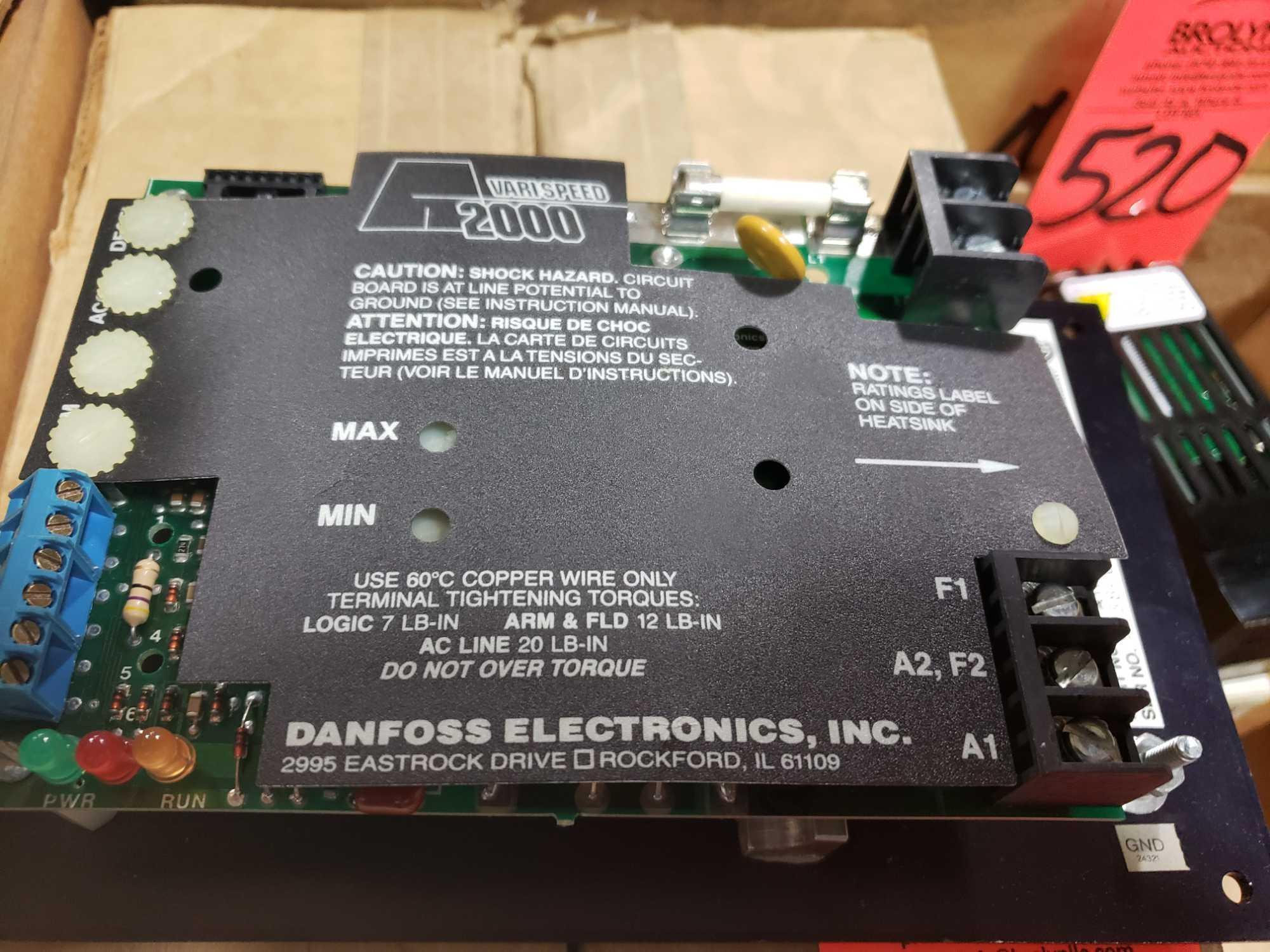 Danfoss Electronics part number A11500A000, 1/2hp drive. New in box. - Image 3 of 4